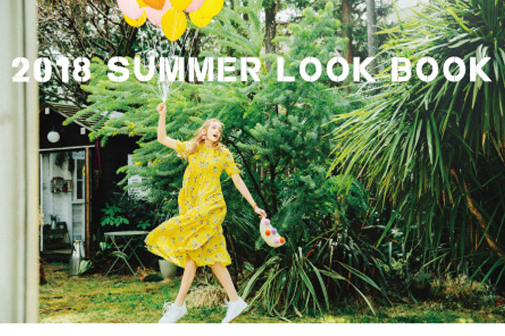 2018 SUMMER COLLECTION LOOK BOOK